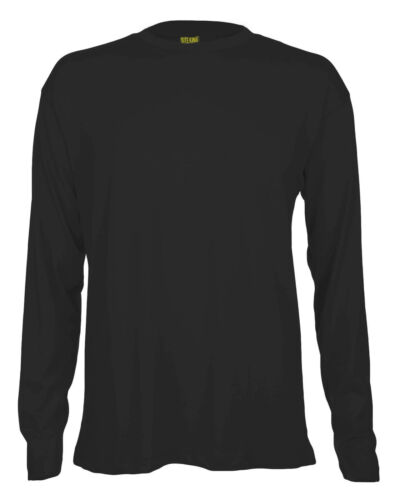 QUALITY 200gsm 100/% Cotton Shirts  315 SITE KING Mens Long Sleeve Work T Shirt