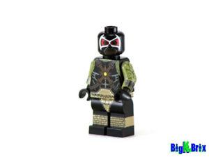 Custom Bane Villain The Batman Lego Fit Minifigure Building Toys