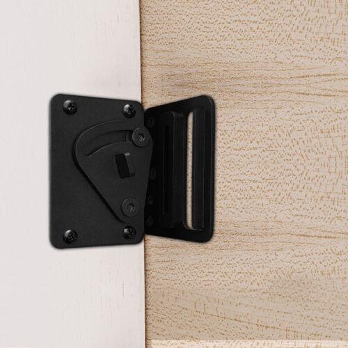 Steel Black Door Latch Door Lock for Sliding Barn Wood Door On Sale