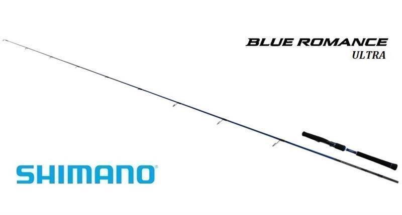 CANNA SPINNING SHIMANO blu blu blu ROMANCE ULTRA SOFTBAIT 7' GR 7-21 1f55f0
