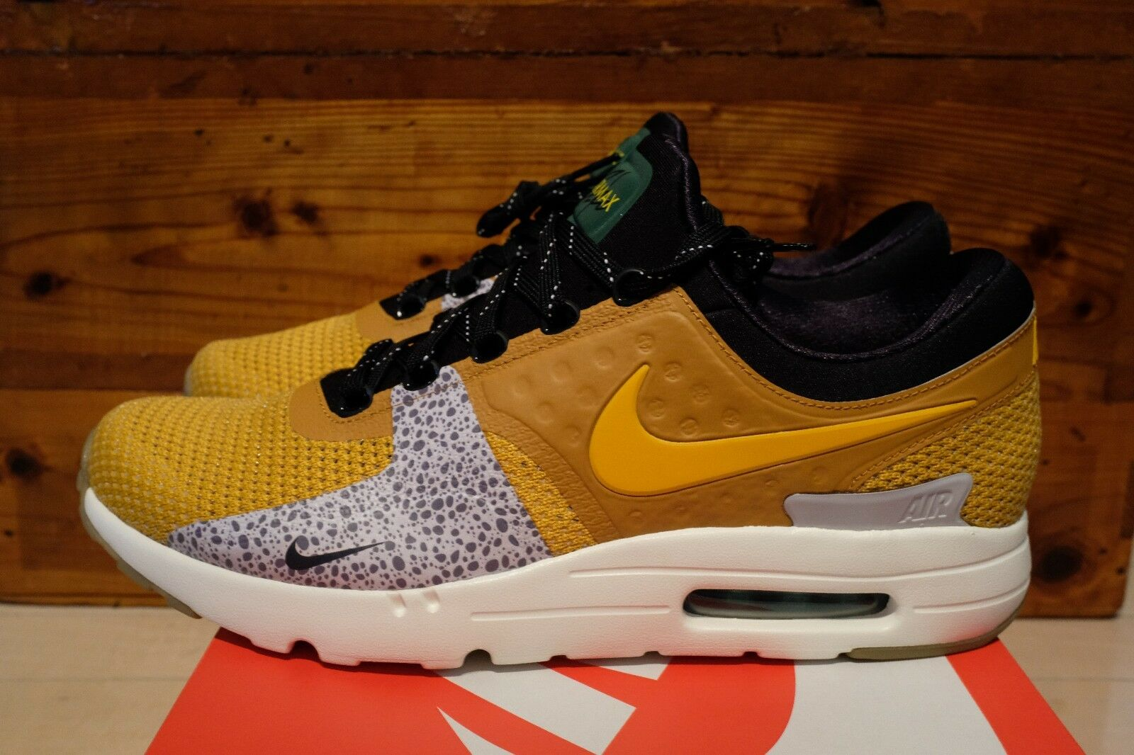 Nike Air Max Zero ID JP Safari Wolf Grey Atmos Japan size 12