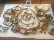JEWELRY LOT Most Vintage Wearable 1 Lb Lot 4