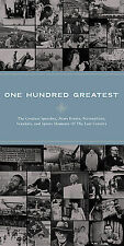 ONE HUNDRED GREATEST (Albert Enstein, OJ Simpson Trial, 9/11) - 5 CD SET