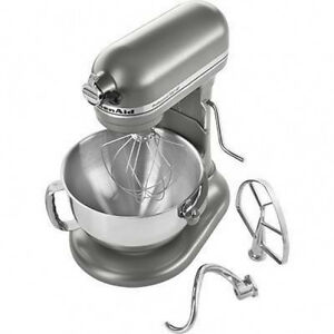 KitchenAid-Pro-600-Rksm6573C-Stand-Mixer-10-speed-SILVER-Professional-heavy-duty