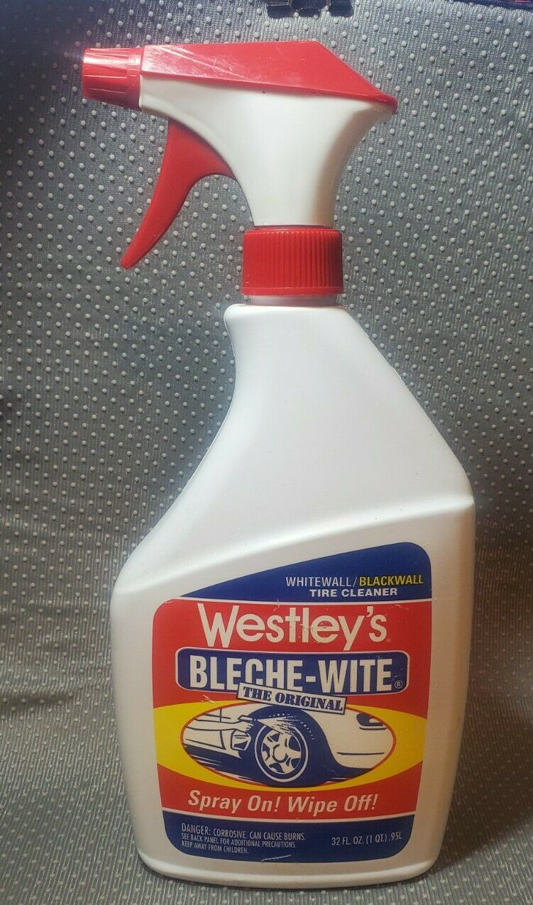 Image 1 - Westley-039-s-Bleche-Wite-Tire-Sidewall-Cleaner-The-Original-NOS-Discontinued-HTF