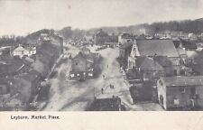 LEYBURN - MARKET PLACE, EARLY VIEW BY FRITH