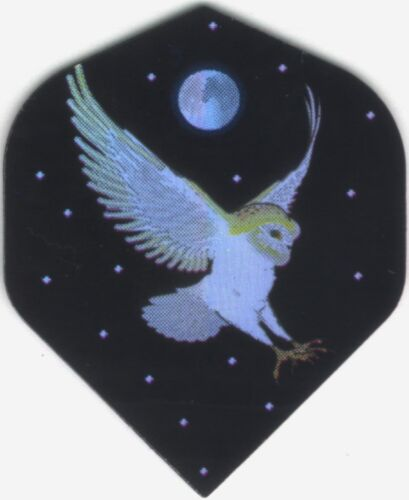 3 per set White Owl Dart Flights