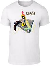 SUEDE Filmstar Logo T-SHIRT vintage band indie smiths cd britpop oasis poster B