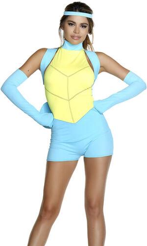 Sexy Pokemon Cartoon Romper Squirtle Costume