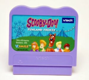 VTECH-VSMILE-SCOOBY-DOO-FUNLAND-FRENZY-GAME-CARTRIDGE