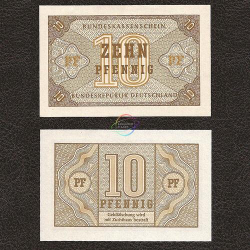 GERMANY FEDERAL REPUBLIC 10 Pfennig UNC P-26 1967
