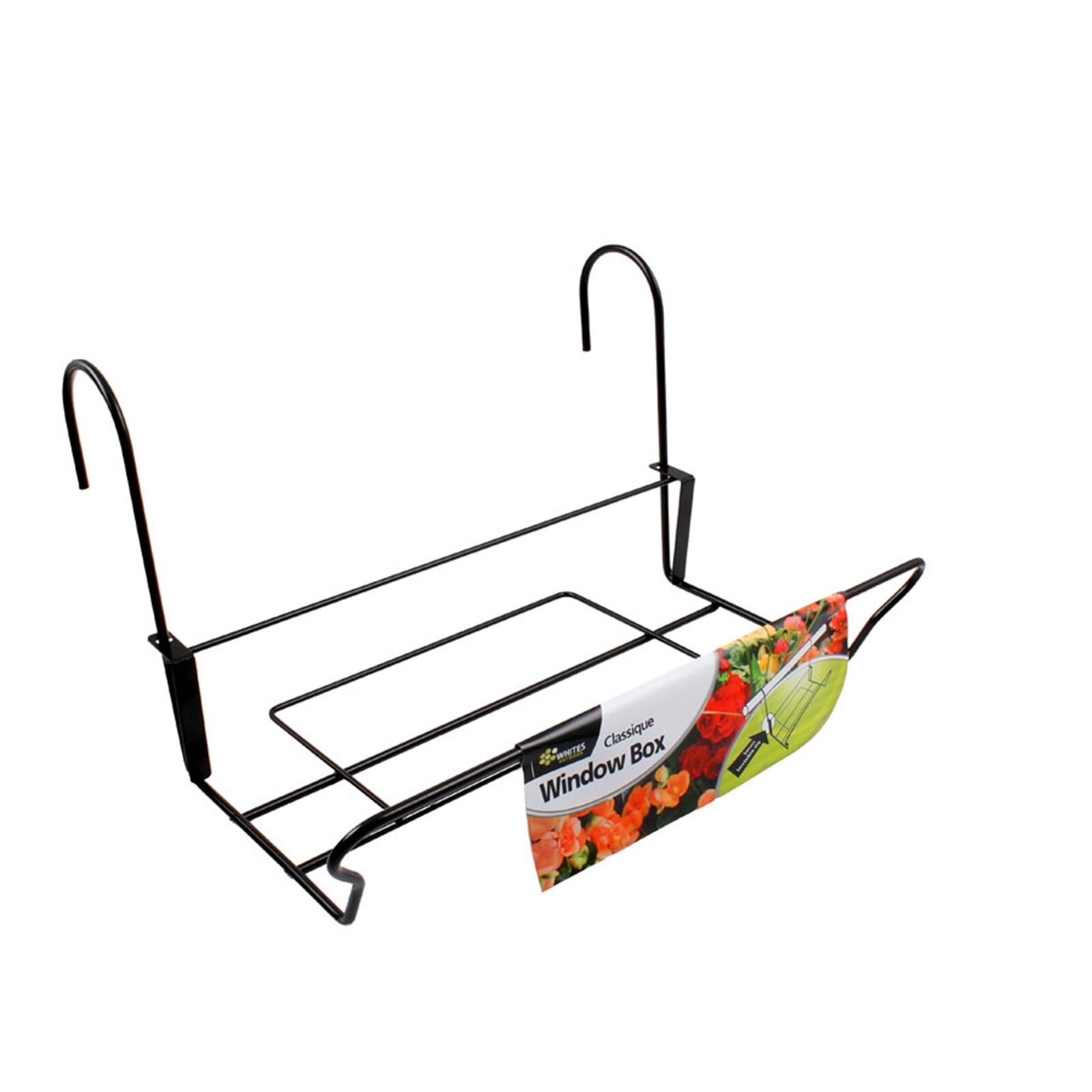 blancoos al aire libre Classique Caja de ventana 380mm durable, Clips De Seguridad Marca Aust