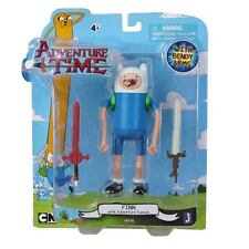 Adventure Time Finn with Adventure Swords and Bendy Arms Action Figure NEW Toys