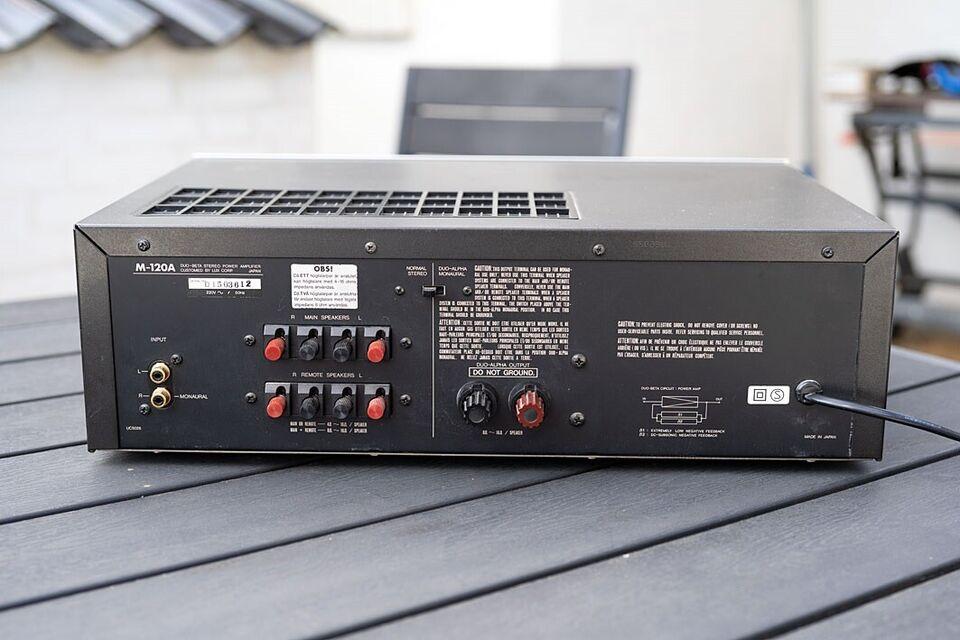 Effektforstærker, Luxman