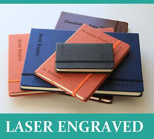 Personalized Notebook Premium Journal Diary Pad Custom Bespoke Gift Engraved