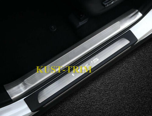 Door Sill Plate Entry Guards Protector Trim FOR 217-2020 Lexus NX 300//300H//200T
