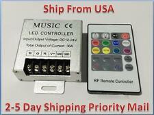 DJ 20Key Music RF Remote Controller DC12/24V 36A For RGB LED Strip Light