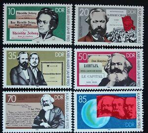 Stamp-Rda-Germany-Yvert-and-Tellier-N-2427-IN-2432-N-Cyn28-Germany-Stamp