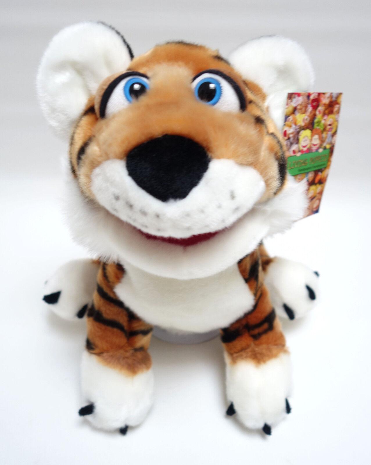 Living Puppets  Handpuppe Paco der Tiger ca.35 cm  NEU