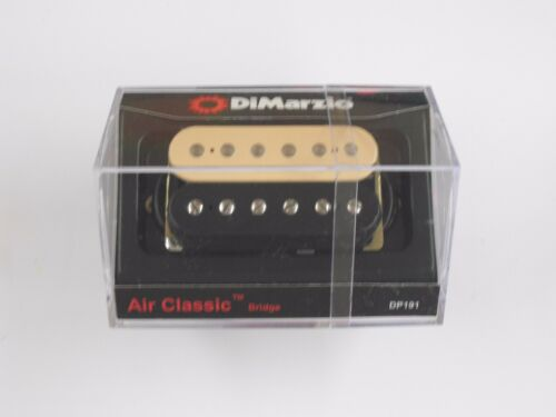 DiMarzio Regular Spaced Air Classic Bridge Black//Creme W//Chrome Poles DP 191
