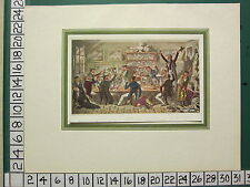 VINTAGE SPORTING PRINT ~ OXFORD TRANSPORTS ALBANIANS DOING PENANCE PAST OFFENCES
