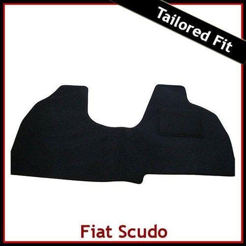 FIAT SCUDO Mk2 2007-2016 Tailored Carpet Car Floor Mats BLACK
