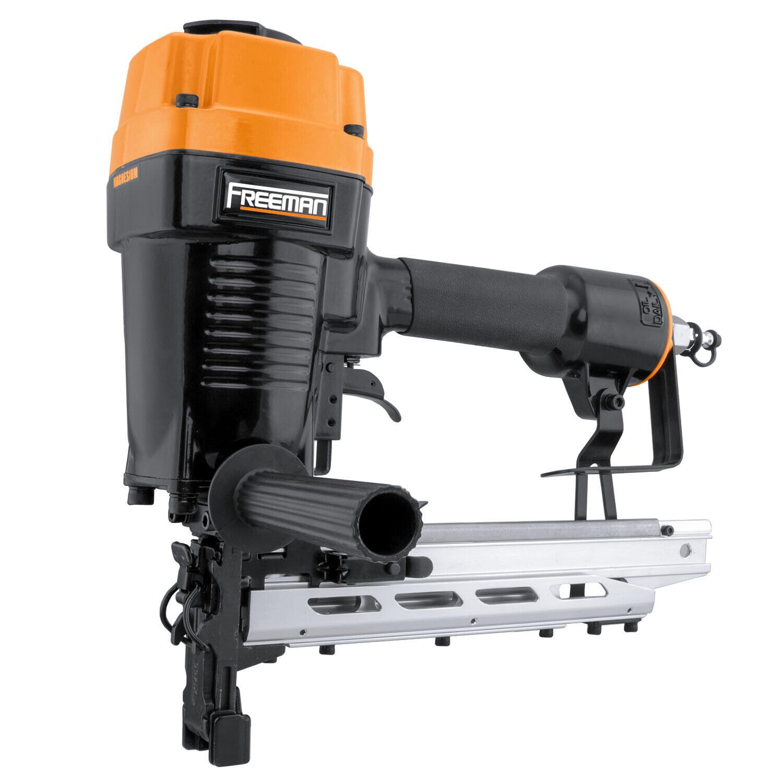 Freeman PFS9 Pneumatic 9 Gauge 1.5 to 2 Inch Fencing Stapler Gun with Case. Buy it now for 289.99