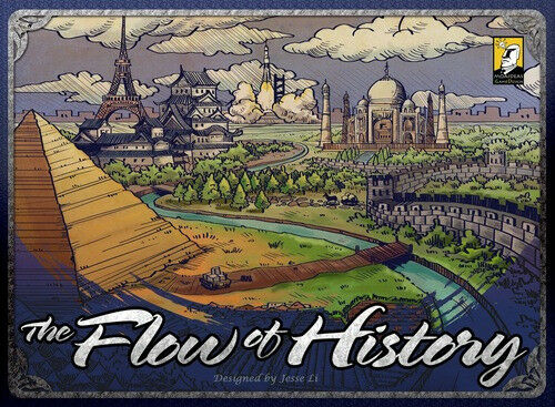The Flow of History board game
