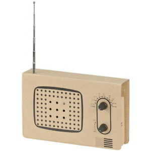 Karton Radio Baukasten