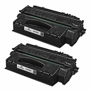2-Pk-Compatible-Toner-for-HP-Q5949X-49X-Black-LaserJet-1320-3390-3392-High-Yield