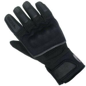 Richa-Subzero-Waterproof-Motorcycle-Motorbike-Short-Textile-Gloves-Black