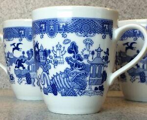 Calamityware-12-oz-Lot-of-2-Coffee-Tea-Mugs-Porcelain-Calamity-Ware-Cup-Poland