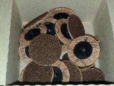 25 2 3m Scotch Brite Roloc Tr Surface Conditioning Abrasive Disc Brown Coarse