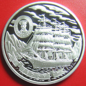 ND-2008-COOK-ISLANDS-5-SILVER-PROOF-034-SEDOV-034-4-MASTED-BARQUE-RUSSIAN-TALL-SHIP