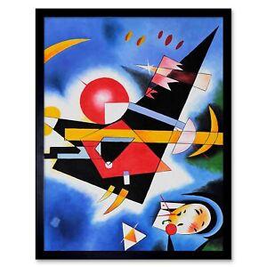 """With and Against Wassily Kadinsky art poster 24x36/"""" Mit Und Gegen"""