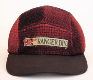 19da25cf Vintage TOMMY HILFIGER 5 Panel MADE IN USA Snapback Hat Wool Ranger ...