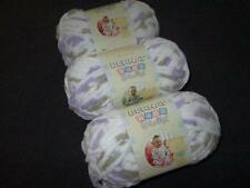 Bernat Baby Blanket Super Bulky Yarn Lot of 3 Skeins Little Lilac Dove 3113