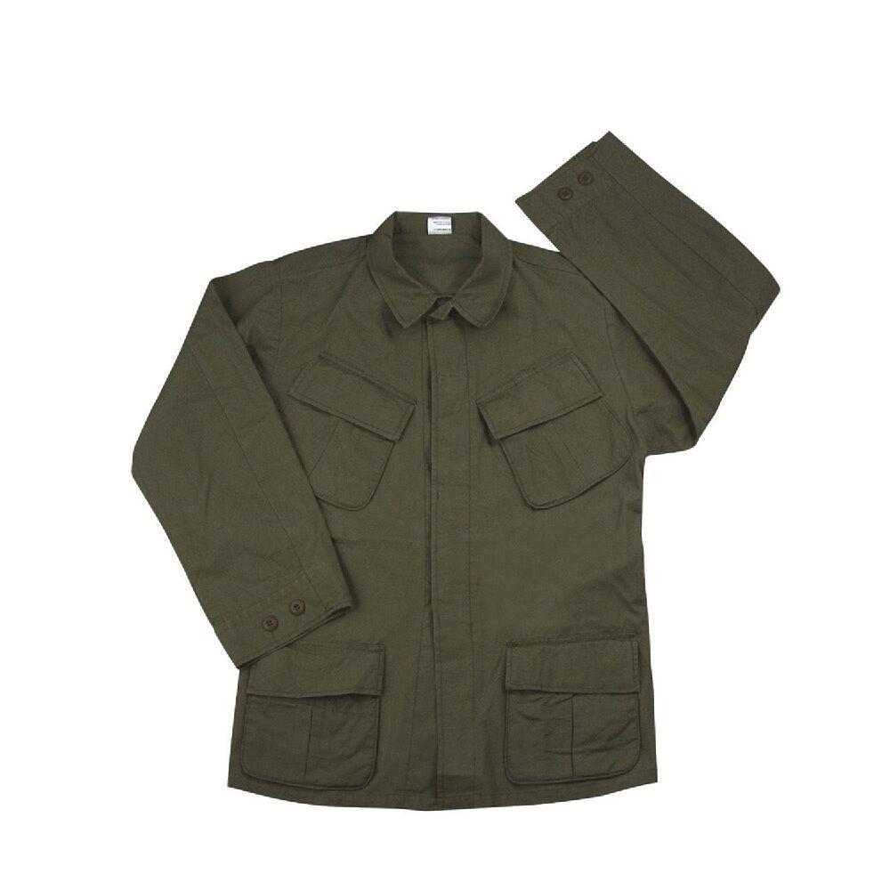 redhco 4687 Olive Drab Vintage Vietnam Fatigue Rip-Stop Shirt