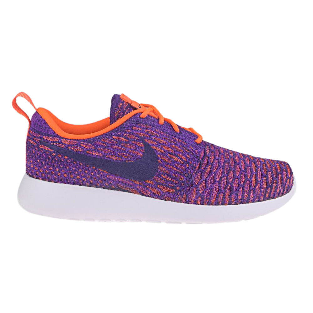 NIKE shoes women shoes  Roshe One Flyknit  Tot Crims NUOVE New SNEAKERS Womens