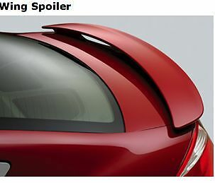 JSP Rear Wing Spoiler Compatible with 2004-2008 Nissan Maxima Factory Style Primed with LED 388017