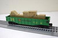 Lionel 6-83286g John Deere Gondola With Crates on sale