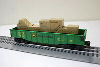 Lionel 6-83286g John Deere Gondola With Crates on sale