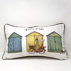 Sam Toft Visiting Friends Cushion / Pillow Size 30x50cm  * FAST UK DISPATCH *
