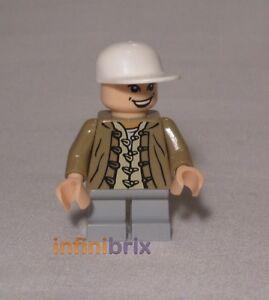 *NEW* Lego Minifig Indiana Jones SHORT ROUND