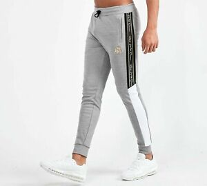 Mens Gym Kings Will Dream Fleece Casual Tracksuit Bottoms Joggers Jogging Pants