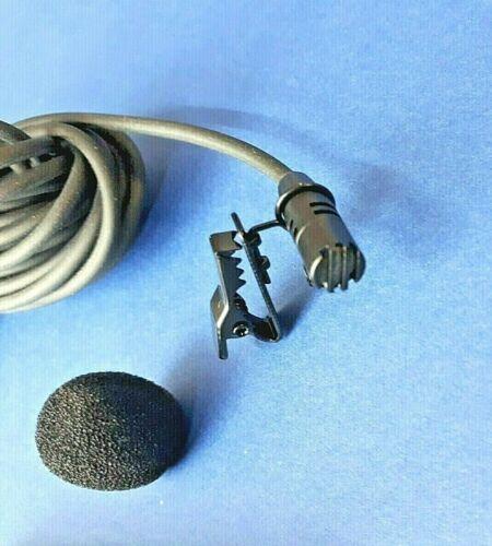 PROFESSIONAL PHANTOM POWERED MIC XLR LAVALIER MICROPHONE CARDIOID
