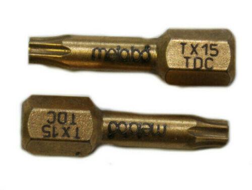 "Metabo Bits Bit Torsion Diamant 1//4/"" 25-89 mm PZ PH TX SW Schlitz Bithalter"
