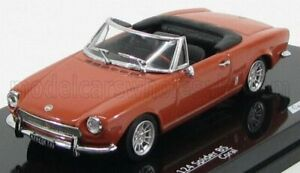VITESSE 1/43 FIAT | 124 SPIDER BS OPEN 1970 | CORAL RED
