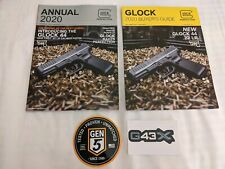 GLOCK GUNS 2019 Annual Buyer/'s Guide Catalog With Decal SHOT Show NEW