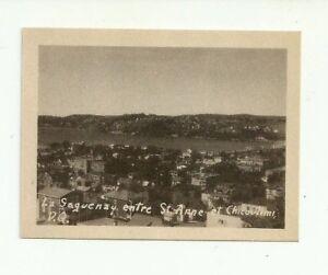 LA-SAGUENAY-ENTRE-ST-ANNE-ET-CHICOUTIMI-QUEBEC-CANADA-VINTAGE-SNAP-SHOT-PHOTO